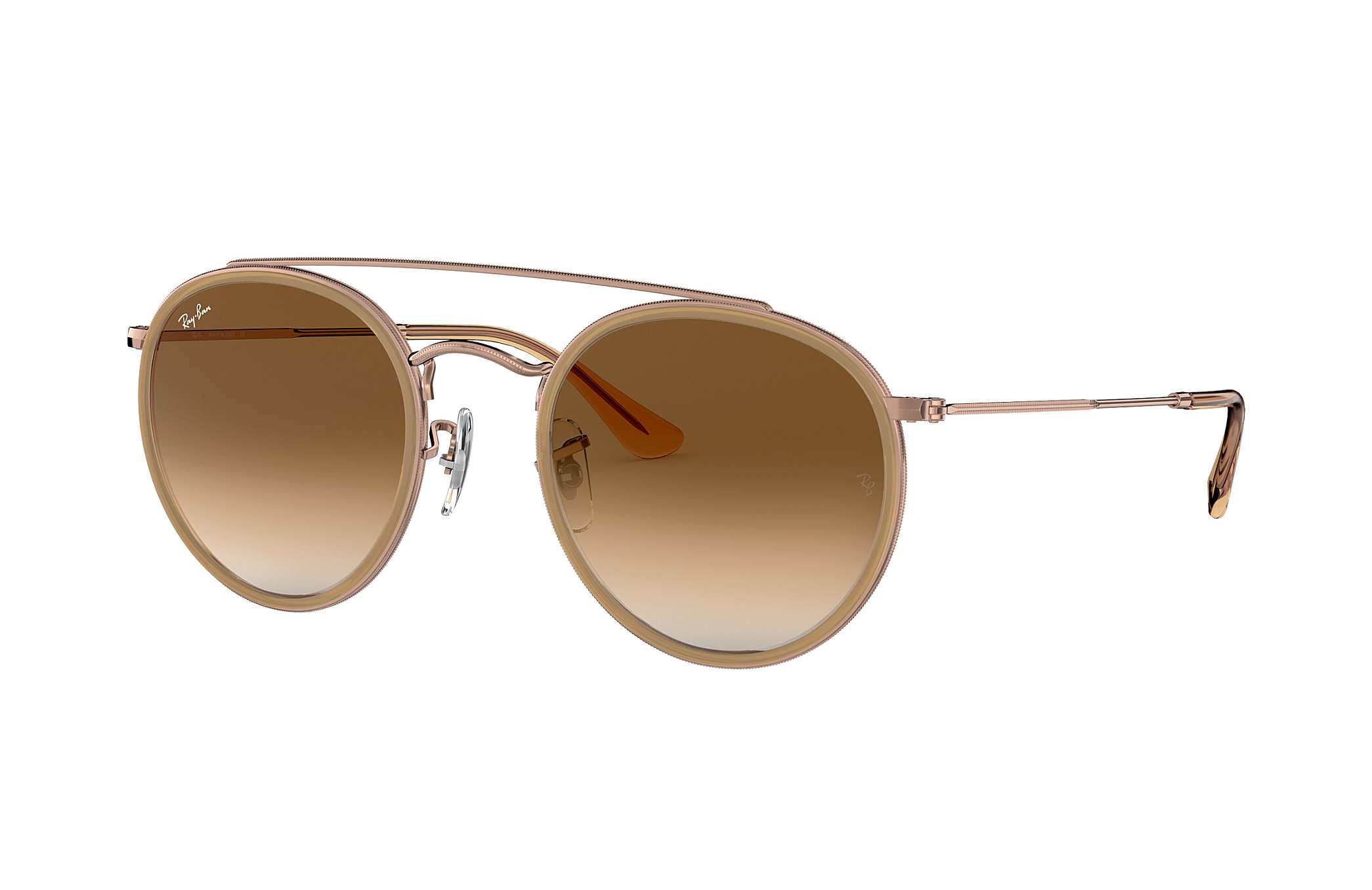 ray ban round double bridge